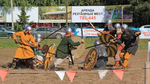 Рыцарский турнир на Вятке - 2016