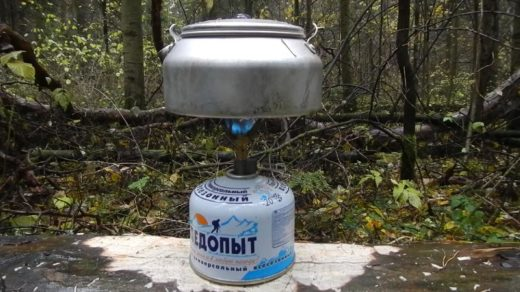 Осенняя прогулка по пасмурной дождливой погоде и походный обед в лесу